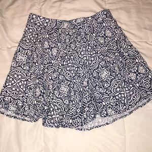 Dresses & Skirts - Blue high wasted flounce skirt